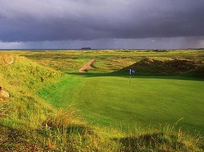 ballliffen and glashedy links courses in donegal ireland