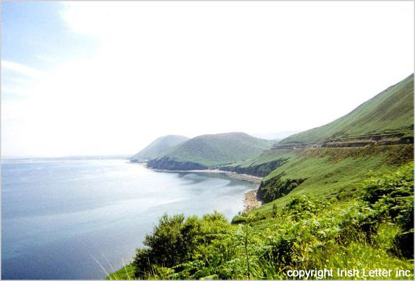 photo of Irish coast off Beara Peninsula