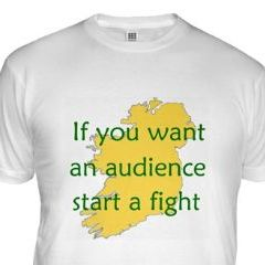 irish start a fight proverb shirt