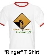 ridiculous driving in Ireland t shirt