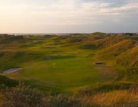 The Island golf links in eastern ireland